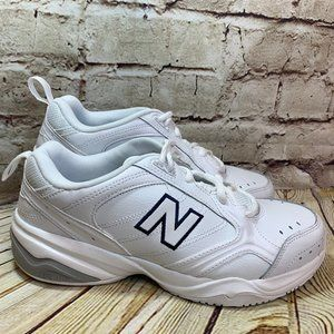New Balance 624 Womens White Wide Fit Size 8.5 EE